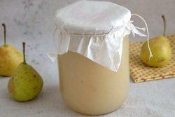 Пюре из груш для ребенка на зиму рецепт