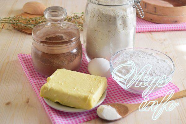 Рецепт печенья Орео фото ингредиенты
