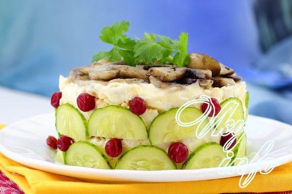 Печеночный торт в духовке рецепт с фото