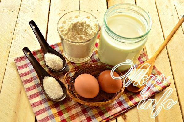 рецепт теста блинов на молоке классический