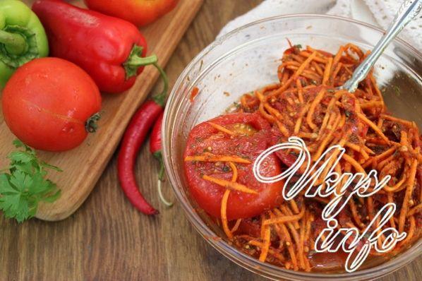 маринованные баклажаны быстрого приготовления с морковью рецепт