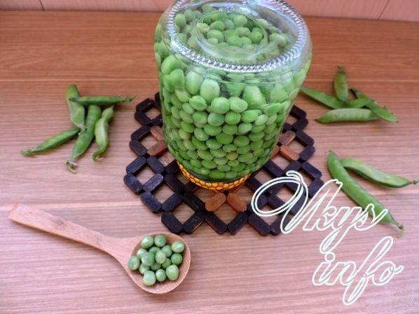 Рецепт зеленого горошка консервированного в домашних условиях 878