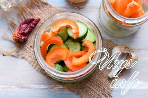 salat ogurcy pomidory 7