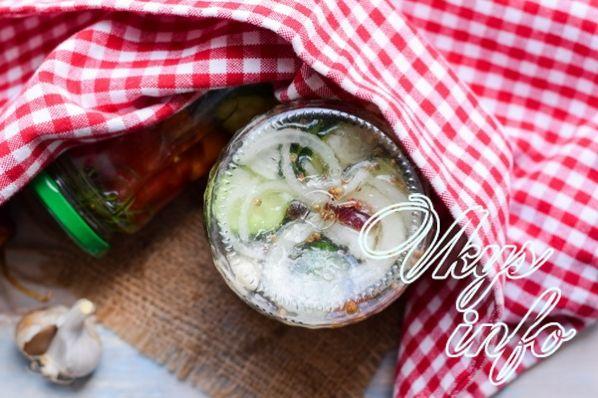 salat ogurcy pomidory 13