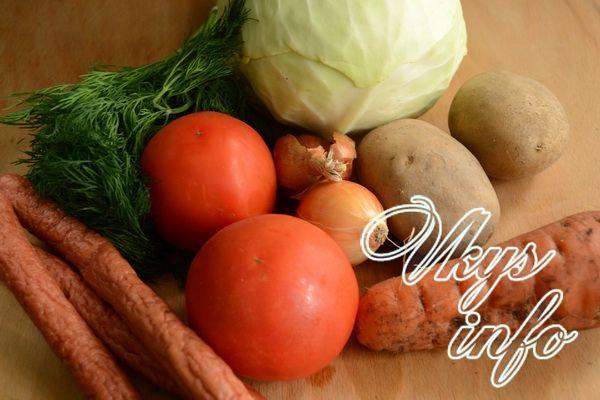 рецепт бигуса из свежей капусты с мясом и картошкой