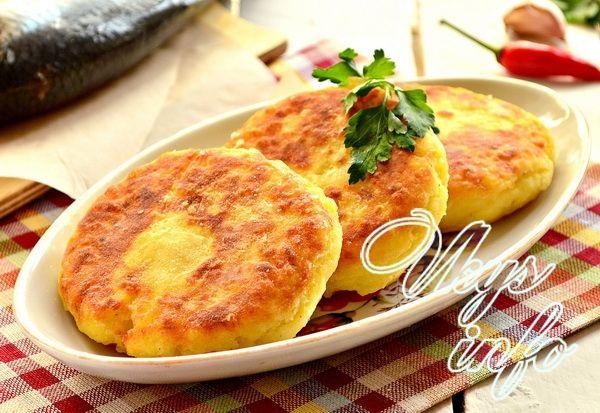 оладьи из картофельного пюре рецепт с фото