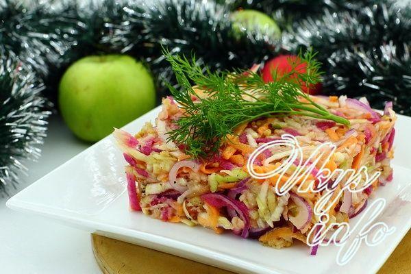Корень сельдерея рецепты салатов