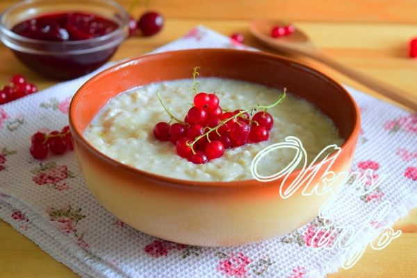 рецепт овсяная каша на молоке в мультиварке рецепт с фото пошагово