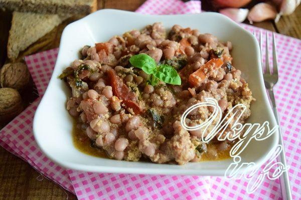 рецепт Лобио из белой фасоли по-грузински
