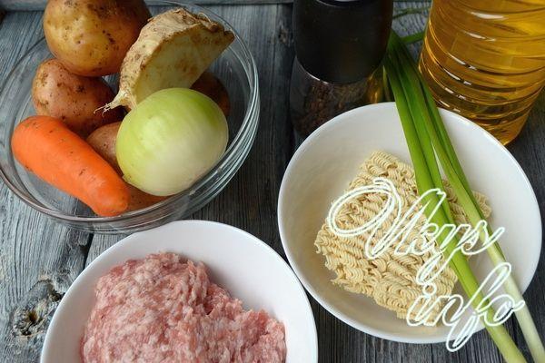 как приготовить вкусный суп рецепт с фото с лапшой