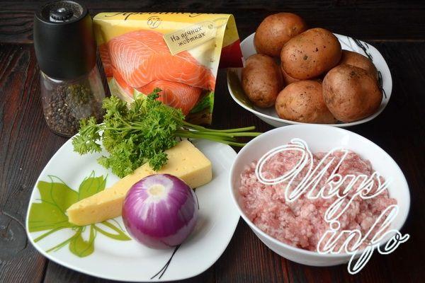 фарш по французски в духовке рецепт с фото