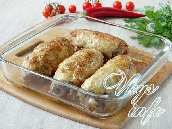 блюда из окорочков в духовке фото рецепт