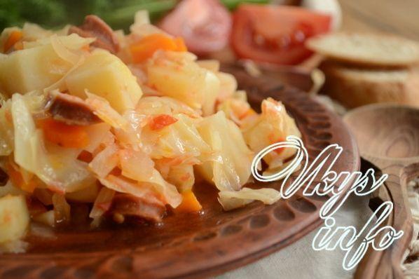 бигус рецепт с картошкой и капустой