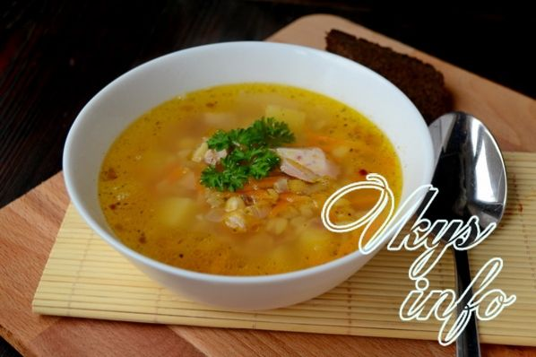 gorohovyi sup s kopchenoi kuricei 10