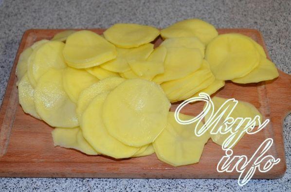 Рецепт приготовления бедрышек с картошкой в духовке