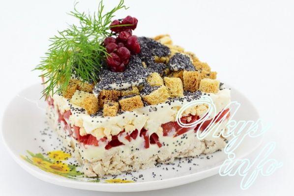 рецепт салата под кайфом с фото