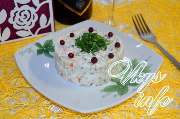 Салат с курицей — 102 рецепта с фото. Как приготовить ...