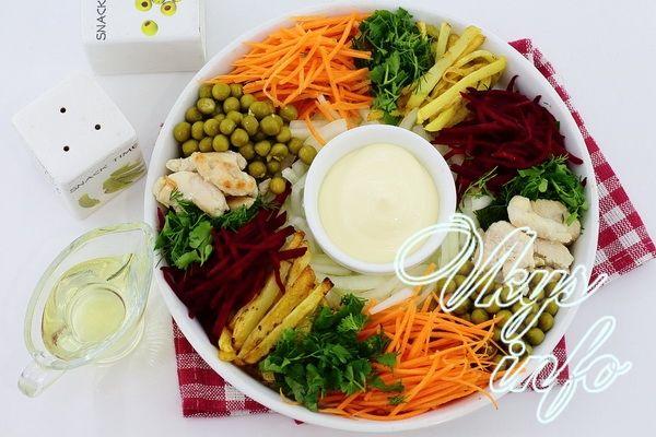 чафан классический салат рецепт классический с