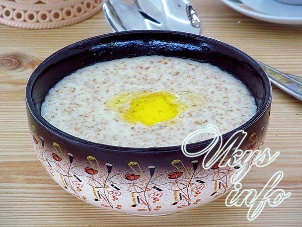 каша пшеничная на молоке рецепт приготовления с фото
