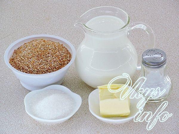 пшеничная каша на молоке рецепт приготовления в мультиварке