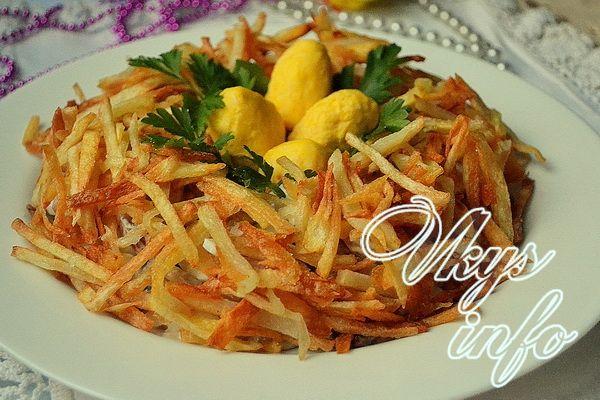 салат гнездо рецепт классический