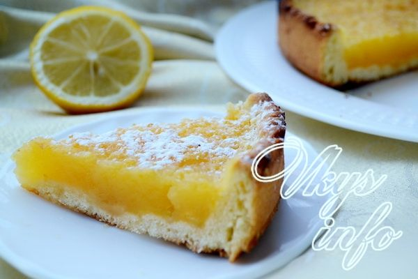 рецепт Лимонный пирог
