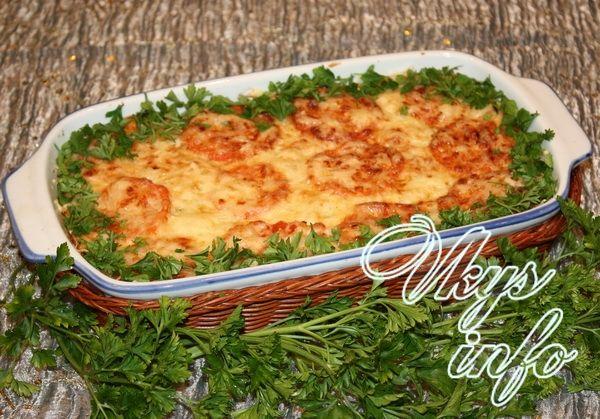 рецепт из запеканки из кабачков с фаршем в духовке