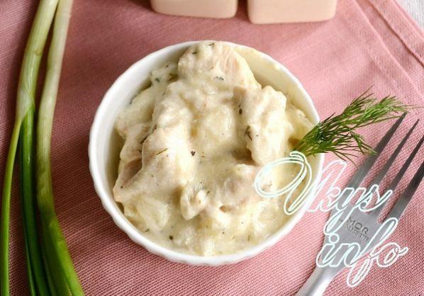 рецепт приготовления курицы в соусе на сковороде