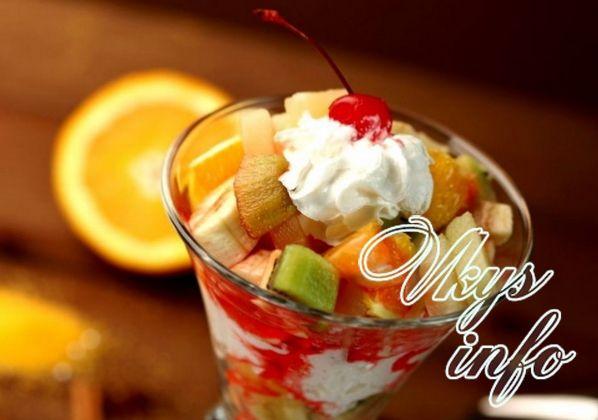 Фруктовый салат на Новый год рецепты с фото