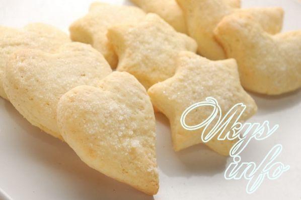 Как сделать из масла печенье