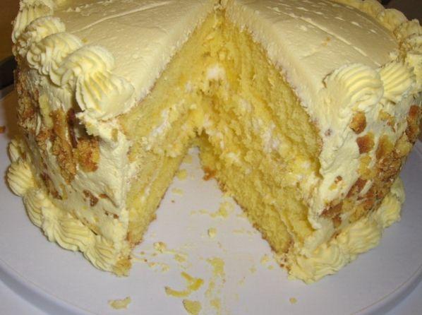 Приготовление заварного крема для торта