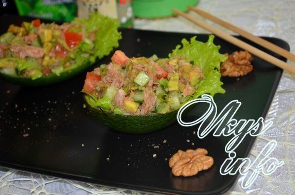 салат с консервой тунец рецепты приготовления с фото