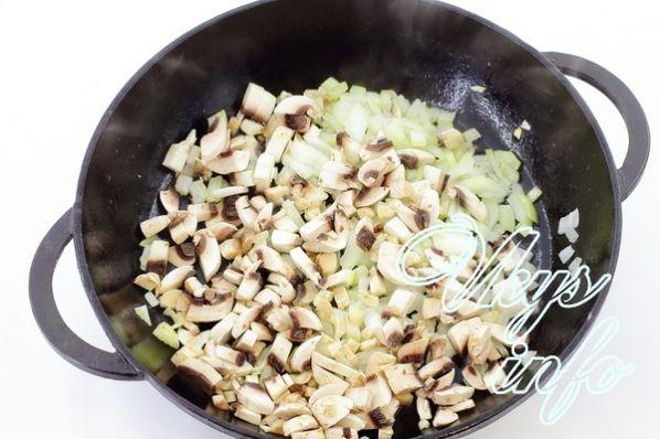 салат из печени с грибами слоями рецепт