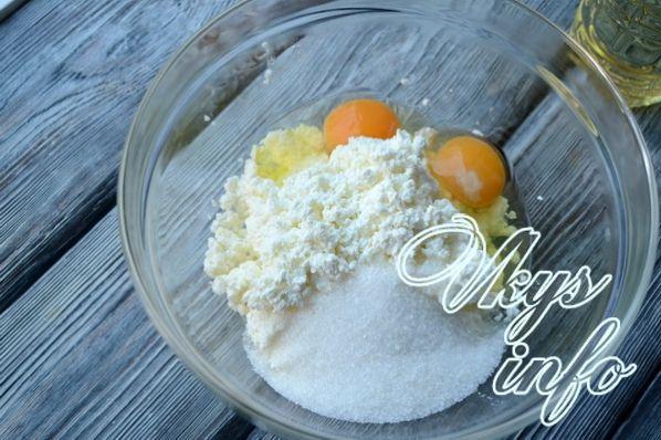 Рецепт из творога соленые