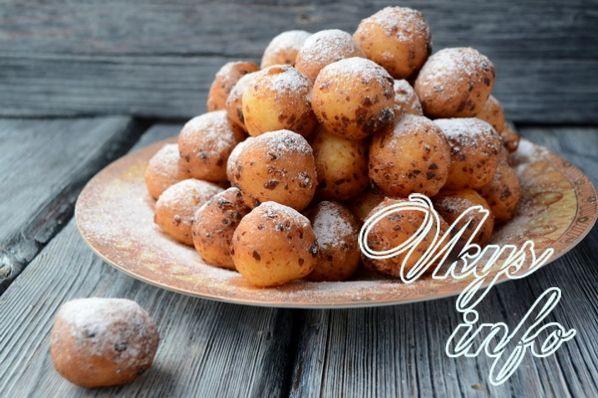 Жареные шарики из сгущенки пошаговый рецепт