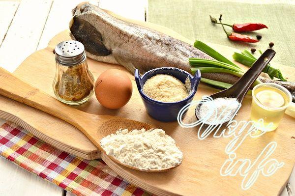 Как пожарить минтай на сковороде фото ингредиенты