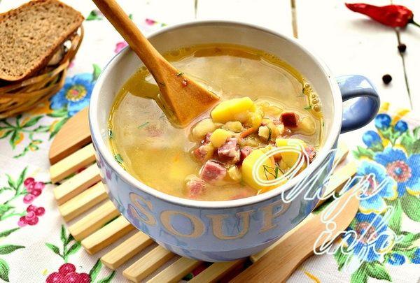 суп с колбасой копченой рецепты с фото простые
