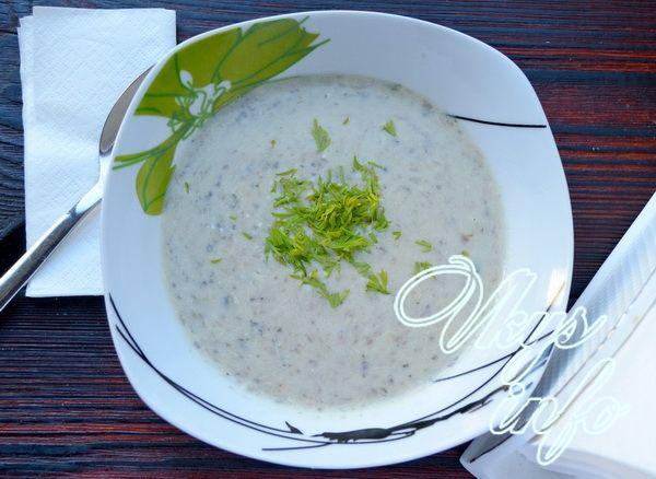 диетический суп пюре с плавленным сыром рецепт
