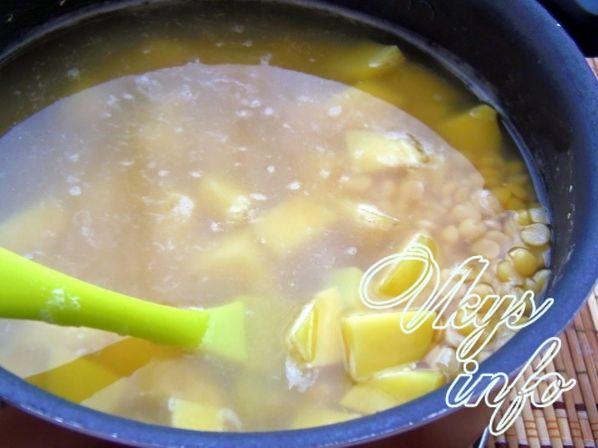 Гороховый суп пошаговый рецепт с фото в мультиварке