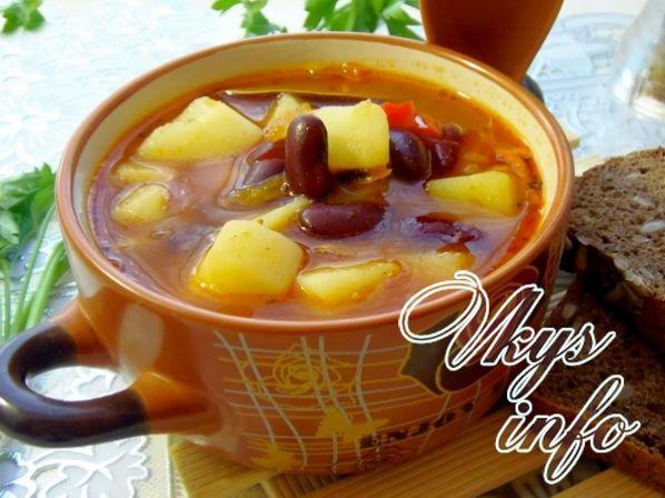 sup s konservirovannoi fasolyu 13