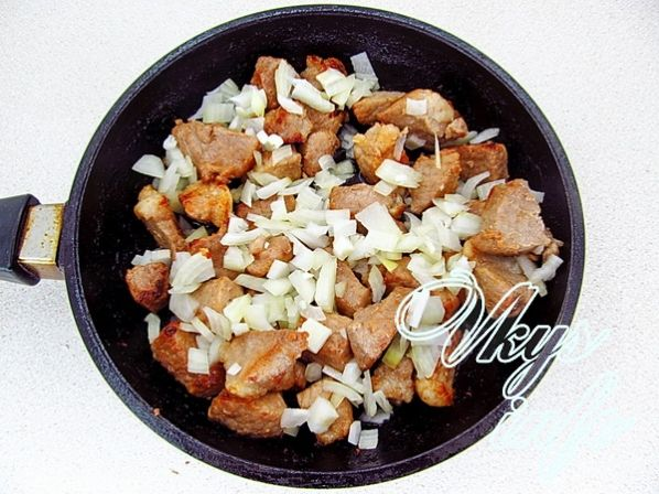 рецепт гречка со свининой в духовке рецепт