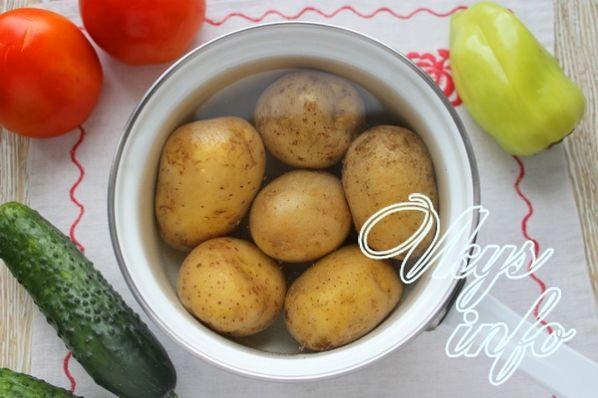 рецепт салата красавица с фото