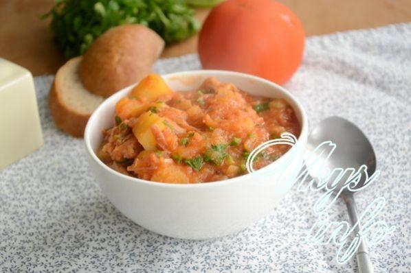 Блюда с тушенкой рецепты простые и вкусные 200