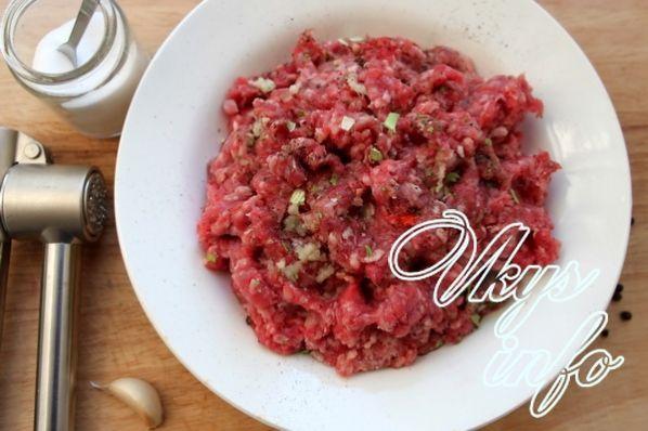 рецепт тефтелей из говядины с подливкой в духовке