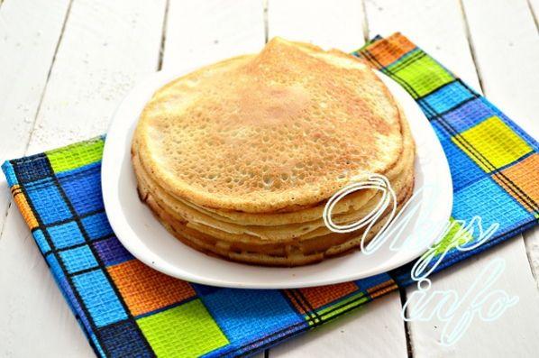 блинный торт с сгущенкой и творогом рецепт с фото