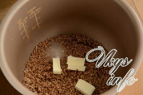 Гречка на молоке в мультиварке - рецепт пошаговый с фото