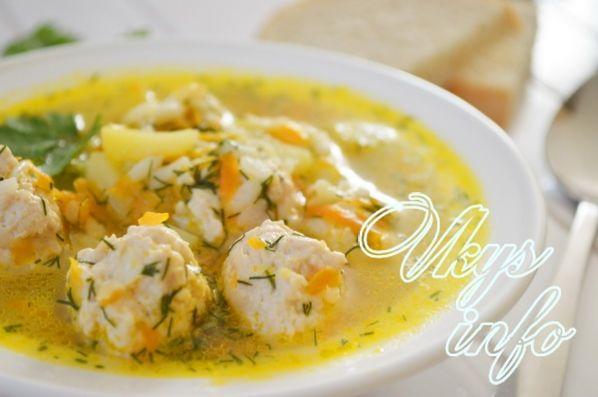 приготовление супа с галушками пошаговый рецепт