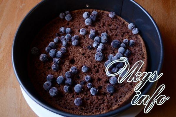Торт «Чёрный принц» на кефире