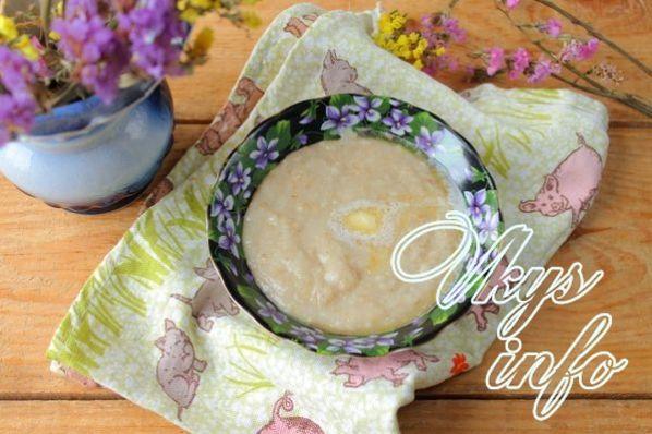 Рецепт приготовления каши на воде