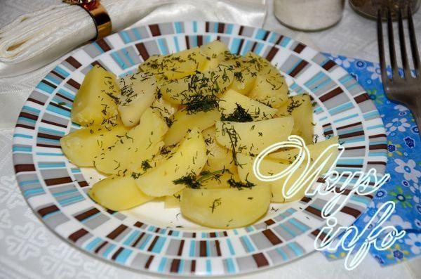 приготовление в микроволновке рецепты картошки